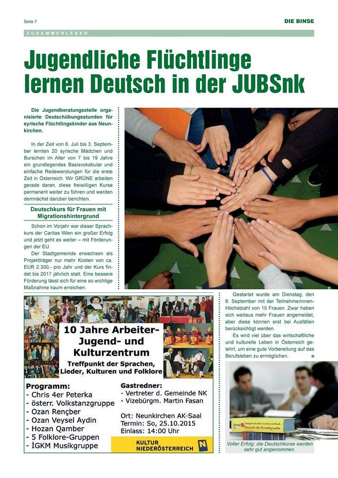 Binse Sept 2015 Deutschübungsstd